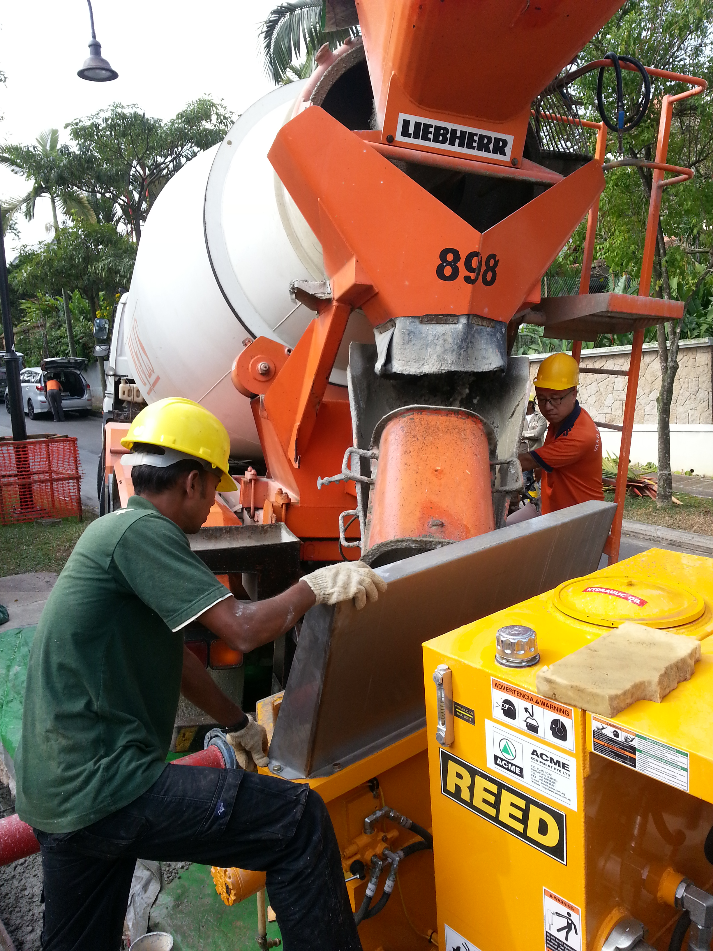 Reed Concrete Shotcrete Pump