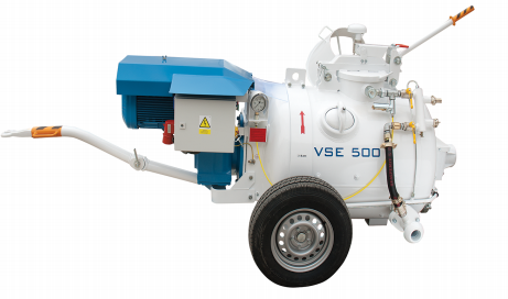 MortarMaster VSE500 Sand Screed Mixer Pump