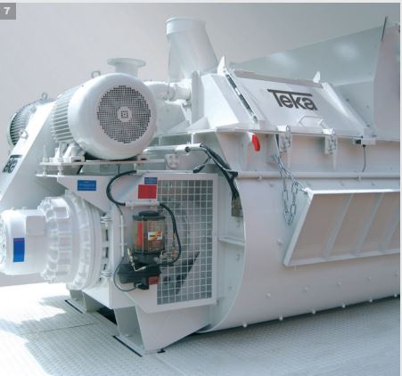 TEKA TDZ Twin Shaft Mixer