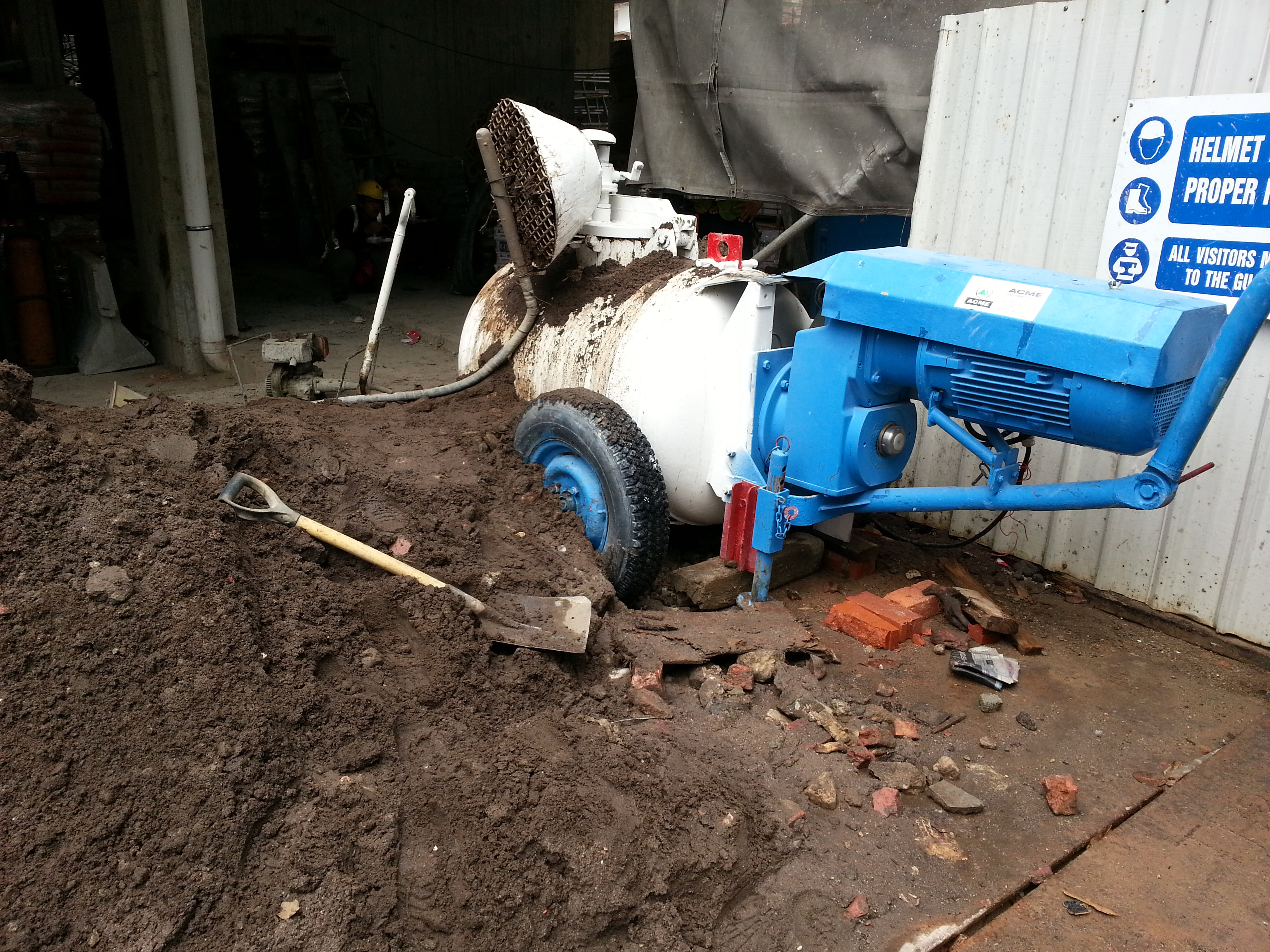 MM VSE 500 Sand/Screed Pump at Singapore Residential Project