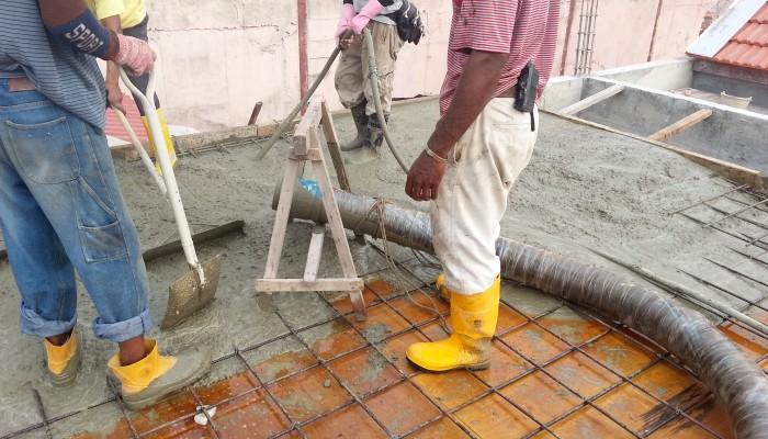 Reed A40HP Concrete on Malaysia Melaka