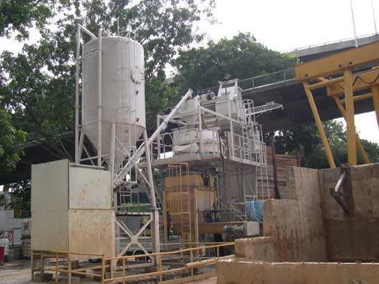 TEKA Batching Plant at C825 Marina Tunnel Singapore