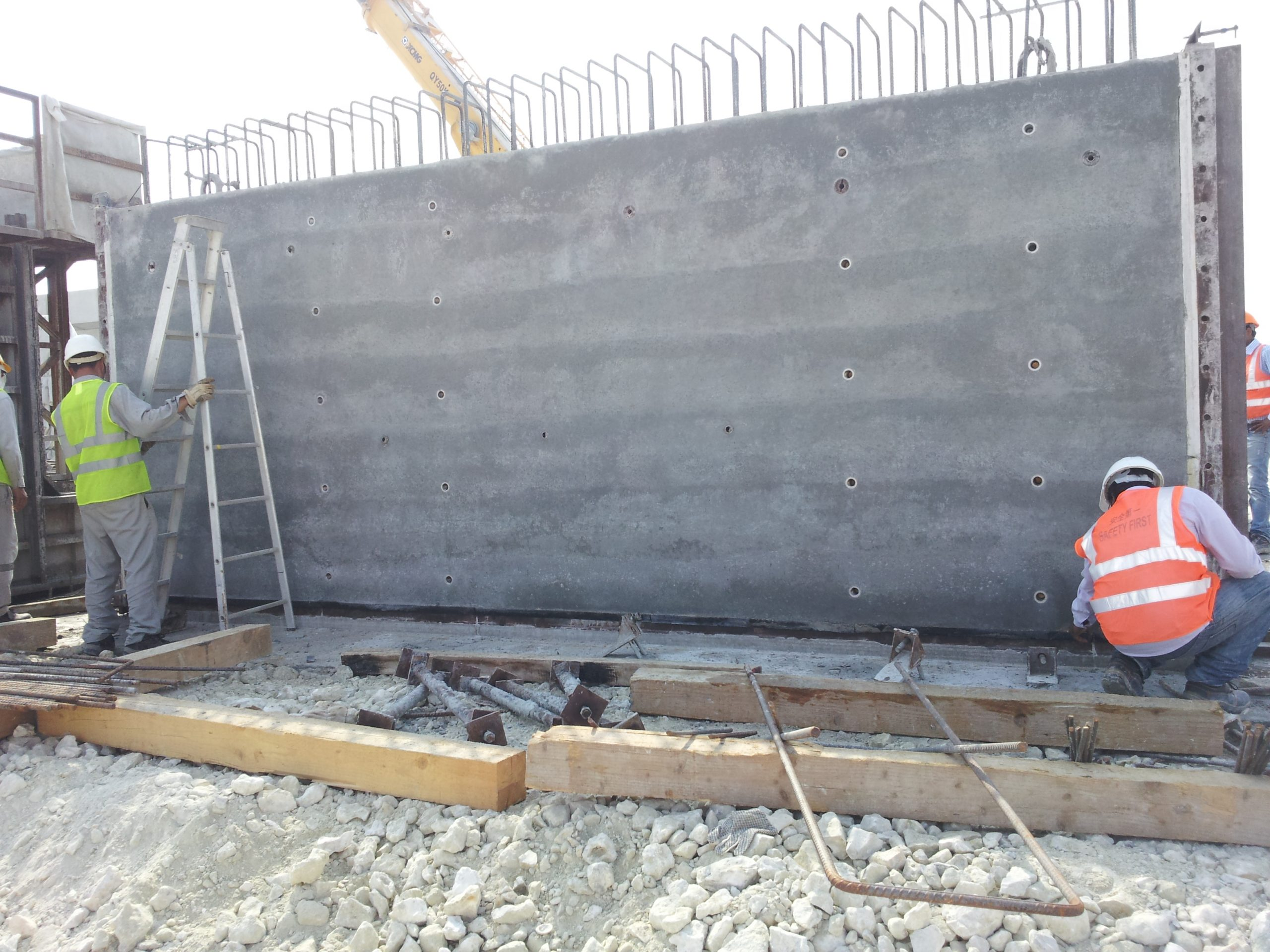 Controlled Permissionable Formwork Liner (CPF)