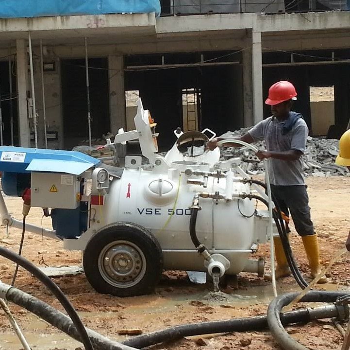 MM VSE500 Machine Work Site