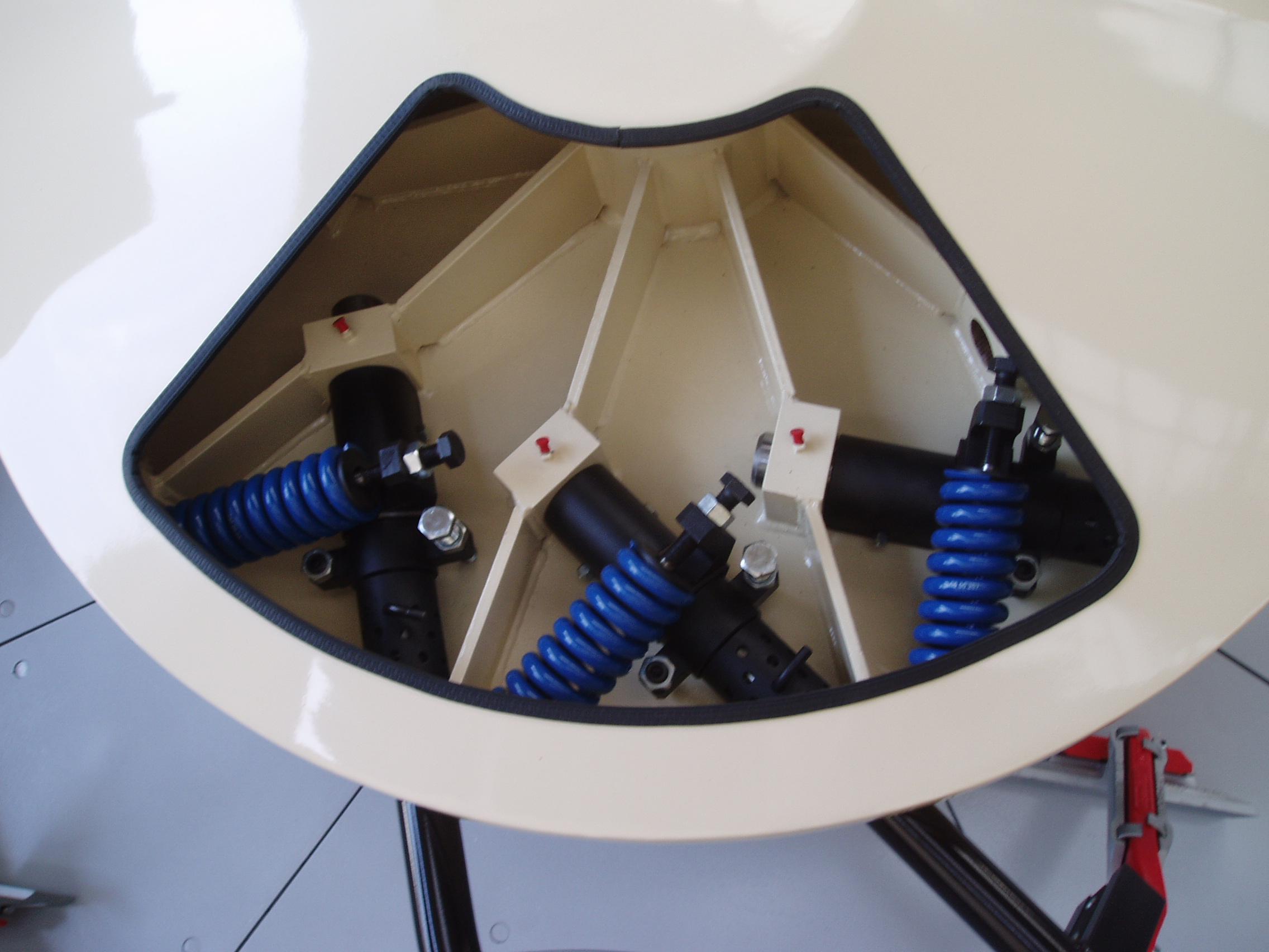 TEKA Glass Batch Mixer Internal