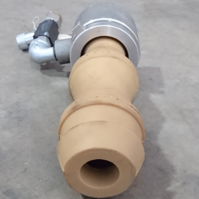 Dry Shotcrete Gunite Nozzle