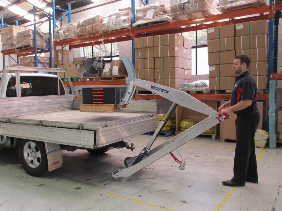 Makinex Powered Hand Truck
