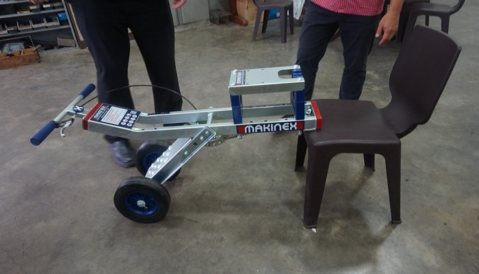 Makinex Jackhammer Trolley