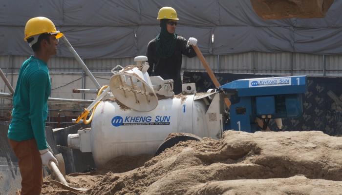 MM VSE500 Singapore Construction Project