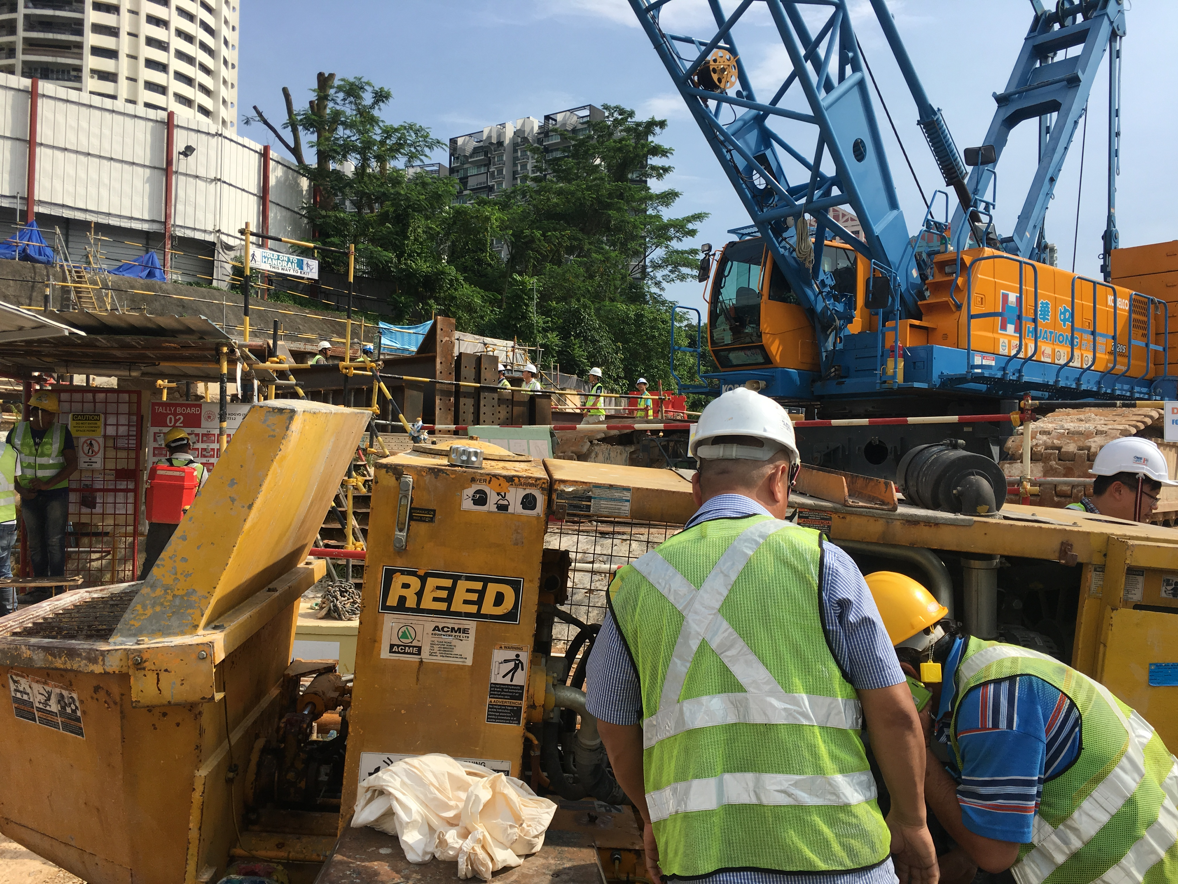 Reed A Series Singapore MRT Project