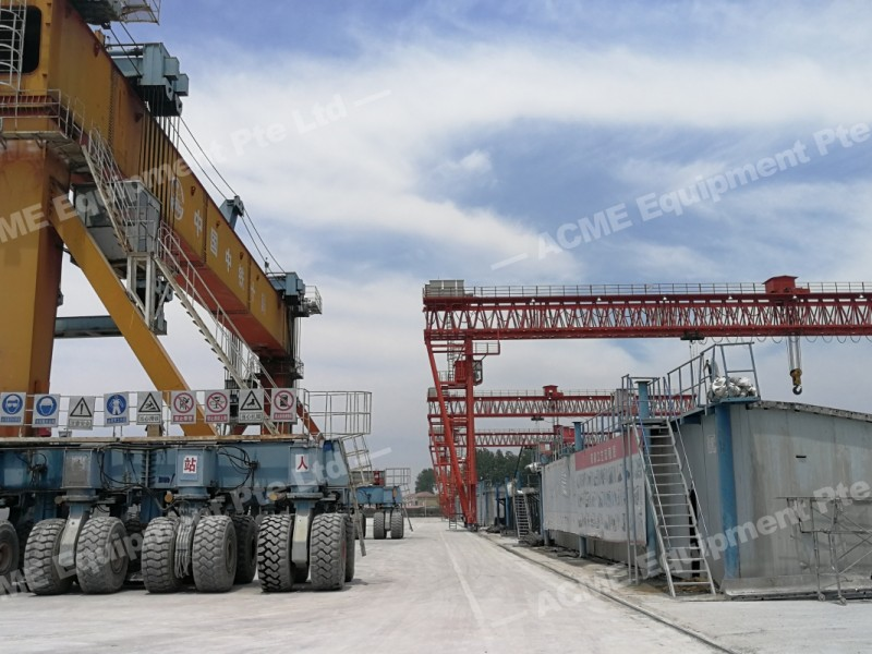 Rubber Tyres Gantry Acme Equipment Special Projects