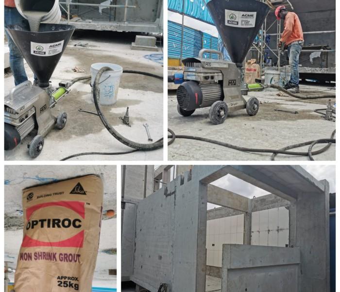Optiroc Material MAI 2Pump Pictor Application