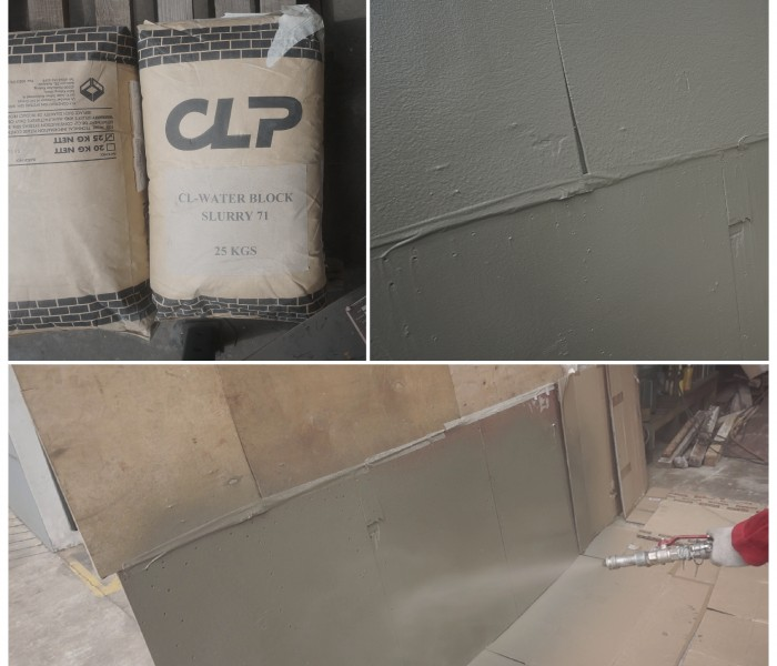 CLP Material Spraying Waterproof Pictor Mai Grountig Pump Test