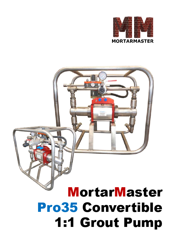 Mortar Master VSE500 Brochure