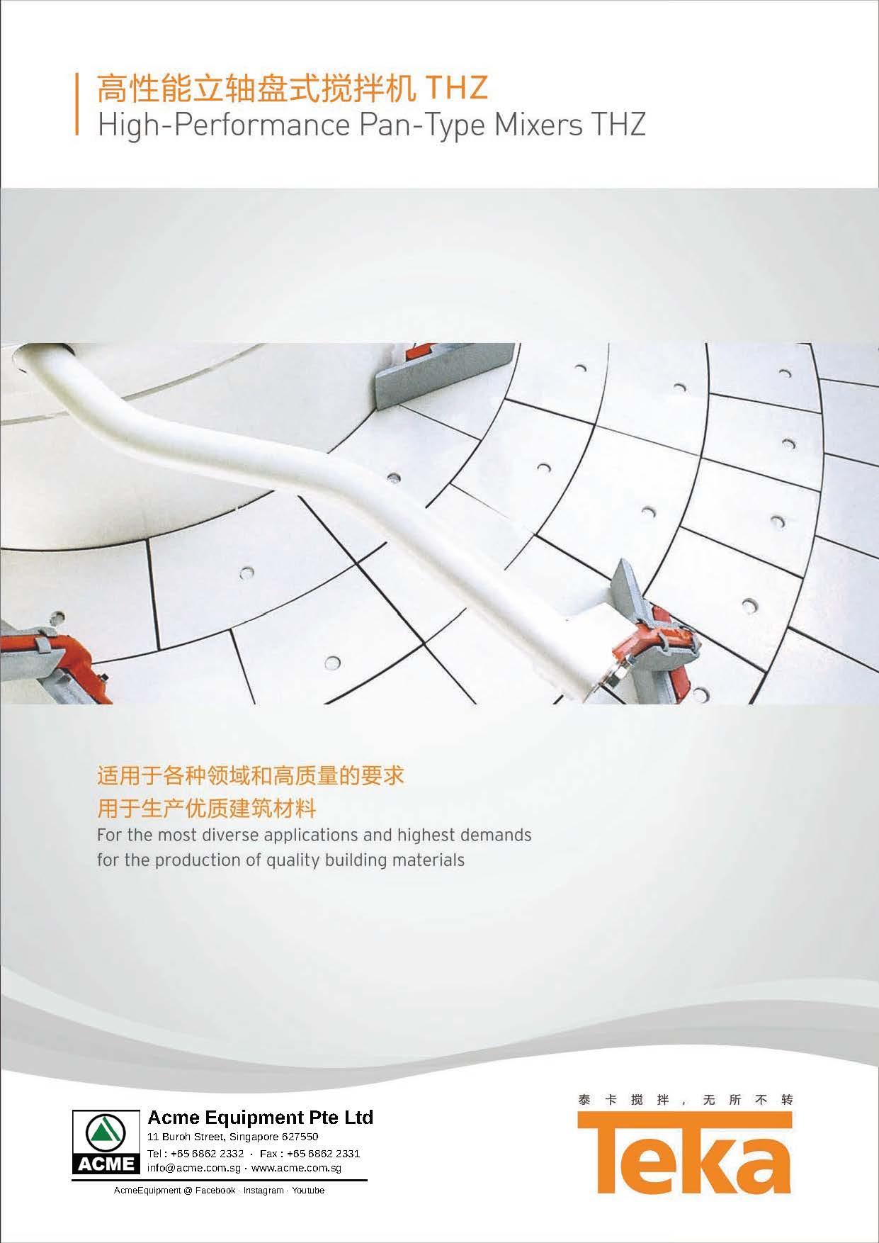 TEKA THZ Mixer Brochure