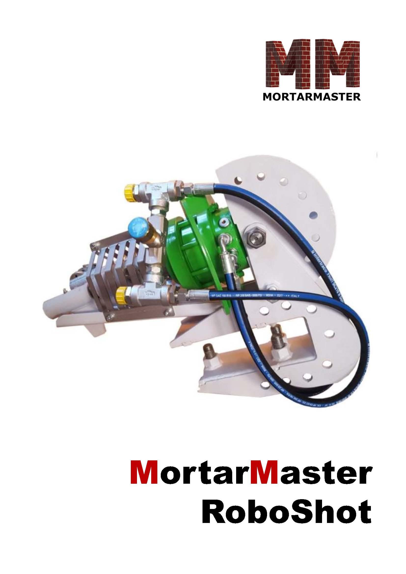 Mortar Master Robotshot Brochure
